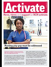 Front cover of September 2016 Activate