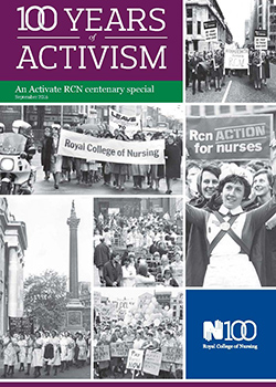 Front cover of Activate centenary supplement