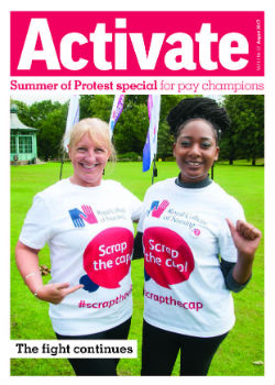 Front cover of the August 2017 issue of Activate