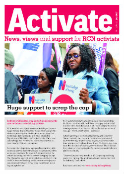 Activate front cover July 2017