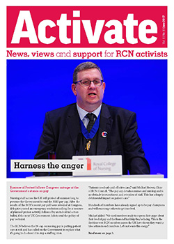 Front cover of June 2017 issue of Activate