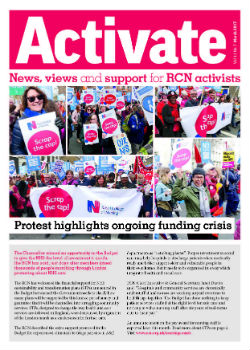 Activate front cover March 2017