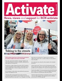 Cover of February 2018 issue of Activate