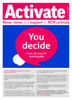 Activate April 2018 front cover