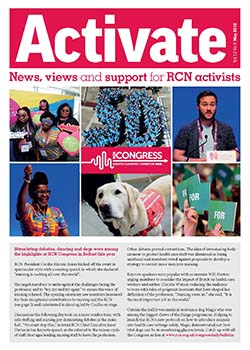 Cover of May issue of Activate