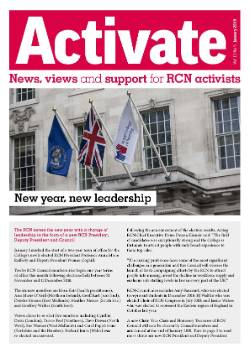Cover of Activate magazine January 2019
