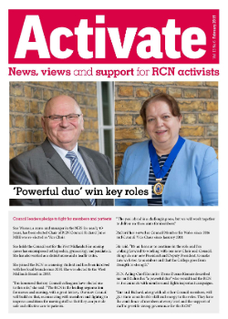 Cover of February 2019 issue of Activate