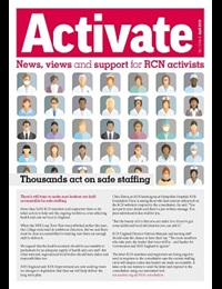 Front cover Activate April 19