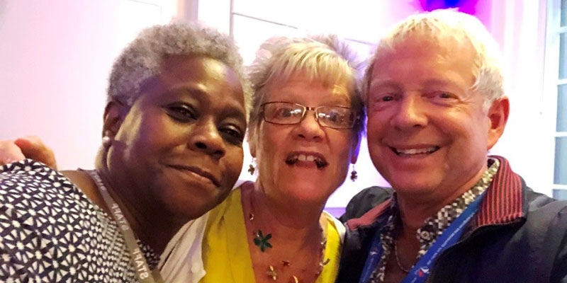 Dame Donna Kinnair, BJ Waltho and Geoffrey Walker at the RCN Council meeting 18-19 September 2019