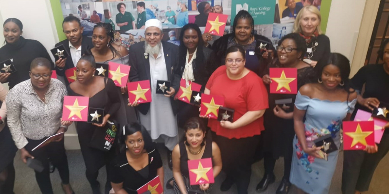 London Region's Rising Stars 2019 with Regional Director Jude Diggins