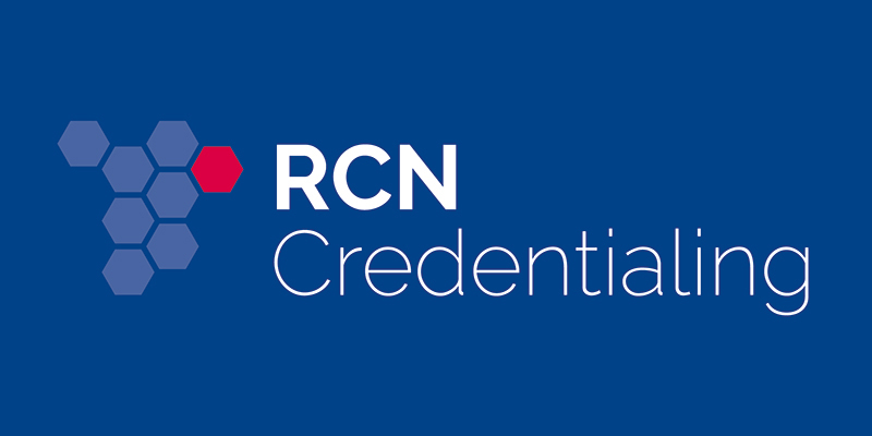 RCN Credentialing logo