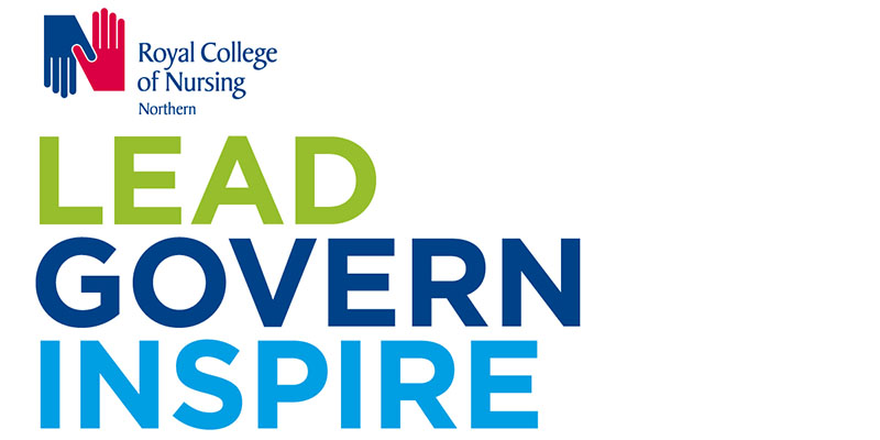 Lead, Govern, Inspire - RCN Northern Governance logo