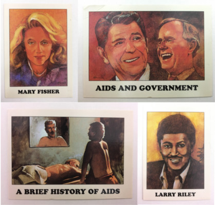 Collectable AIDS Trading Cards