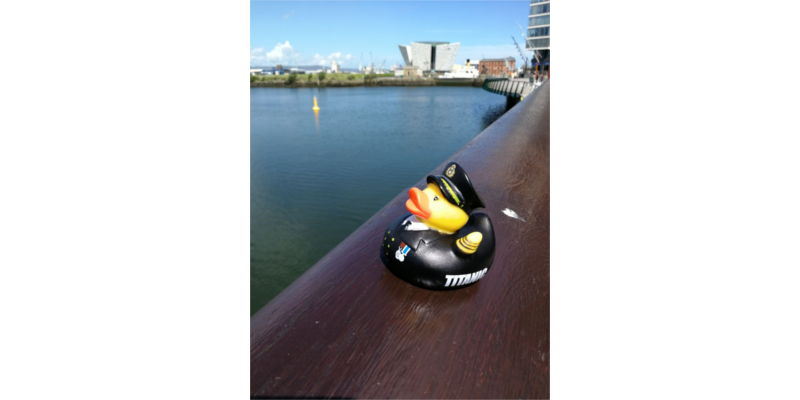 Belfast rubber duck