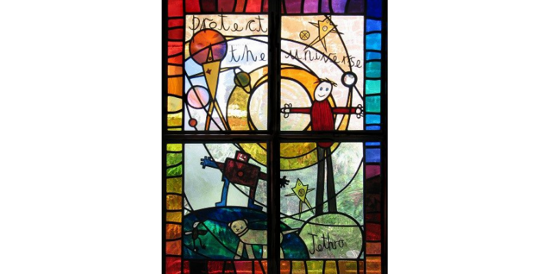 Stained glass history of emotion