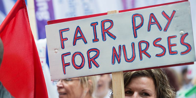Fair pay for nurses