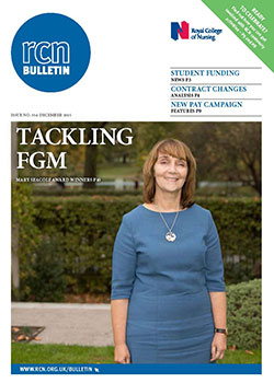 RCN Bulletin cover December 2015