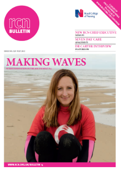 Front cover of July 2015 bulletin