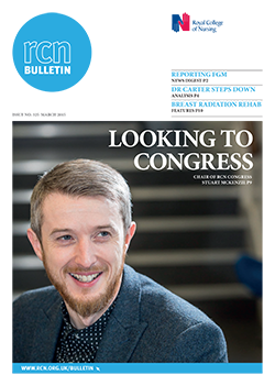 Front cover of March 2015 bulletin