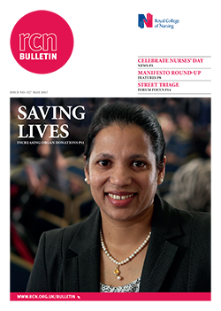 Front cover of May 2015 bulletin