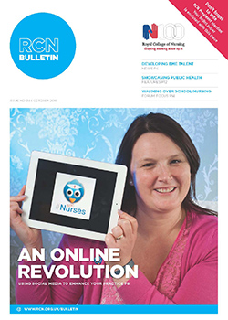 Front cover of October issue of RCN Bulletin
