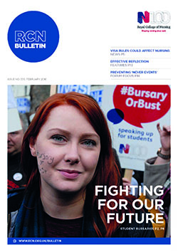 RCN Bulletin February 2016 cover