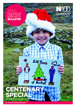 RCN Bulletin December 2016 front cover