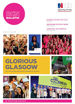 RCN Bulletin July 2016 cover