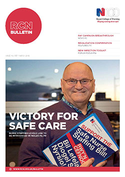 RCN Bulletin March 2016 cover