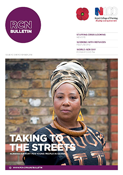 RCN Bulletin November 2016 cover