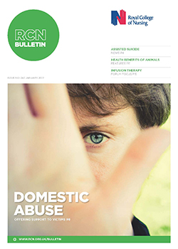 Front cover of January 2017 issue of RCN Bulletin