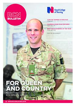 RCN Bulletin June 2017 front cover