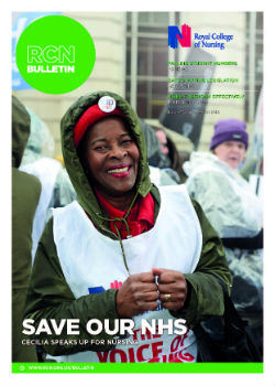 Front cover of RCN Bulletin March 2018