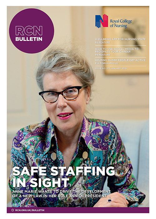 RCN Bulletin January 2019 cover