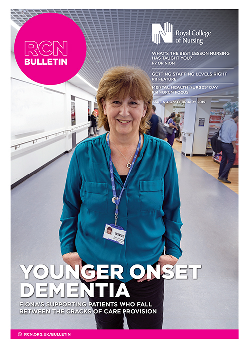 Cover of RCN Bulletin February 2019