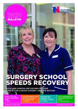 RCN Bulletin cover April 2019