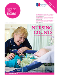 Front cover of February 2015 bulletin