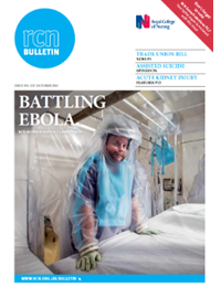 Front cover of October 2015 bulletin