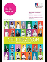 RCN Bulletin January 2016 cover
