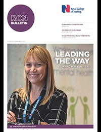 March 2017 RCN Bulletin cover