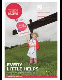 Front cover of August issue of RCN Bulletin