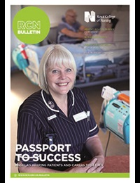 RCN Bulletin September cover