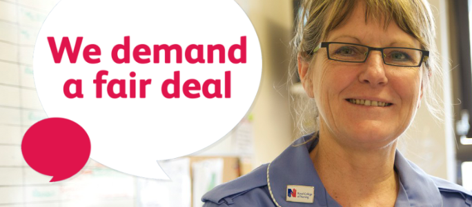 Nursing Counts - We demand a fair deal
