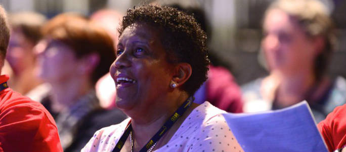 Delegates at RCN Congress