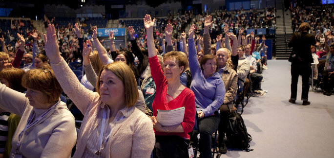 Members at RCN Congress
