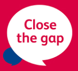 Close the Gap campaign logo