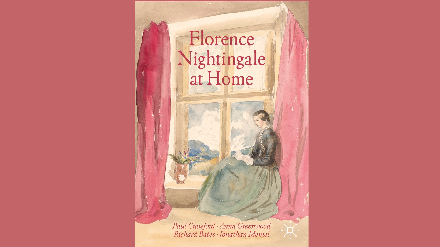 Florence Nightingale at Home Book Cover, RCN Library and Archive Service