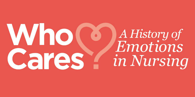 Who Cares Emotions exhibition logo