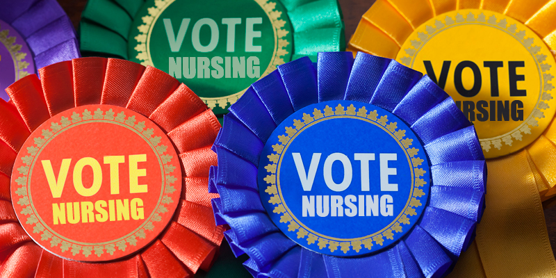 politics in nursing RCN