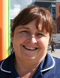 Denise Jonas, Matron for Education and Staff Development at Royal Manchester Children's Hospital